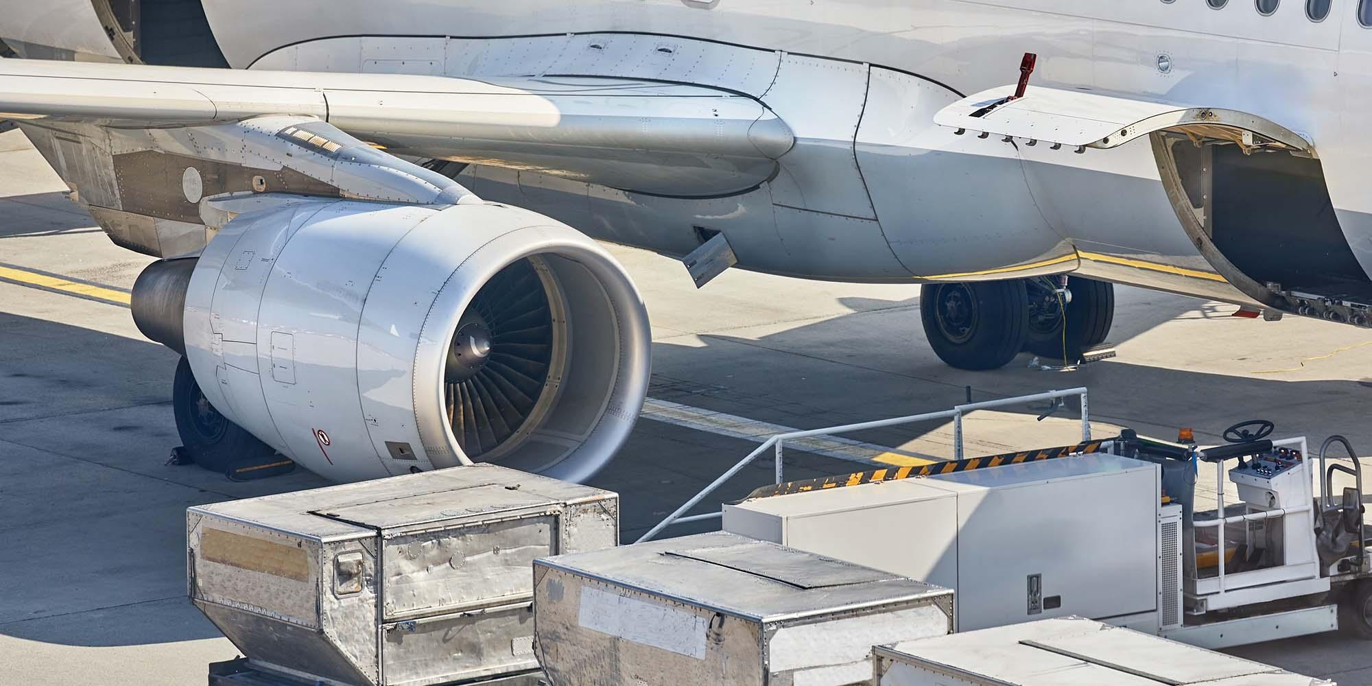 COVID-19 Unterbrechungen in der Luftfracht-Lieferkette