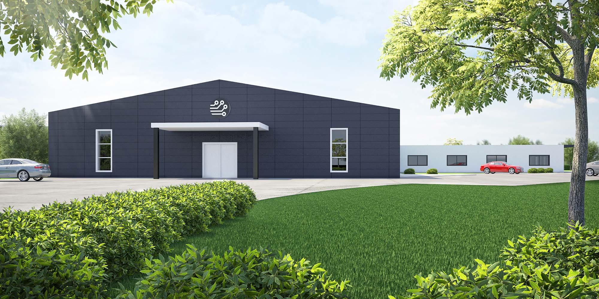 Spatenstich für neue Fabrik in Hennweiler